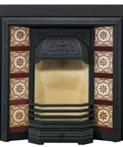 Stovax Victorian Tiled Fireplace Front