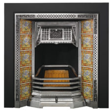SR004 - Stovax Victorian Tiled Insert Fireplace