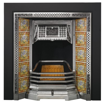 SR004 - Stovax Victorian Tiled Insert Fireplace