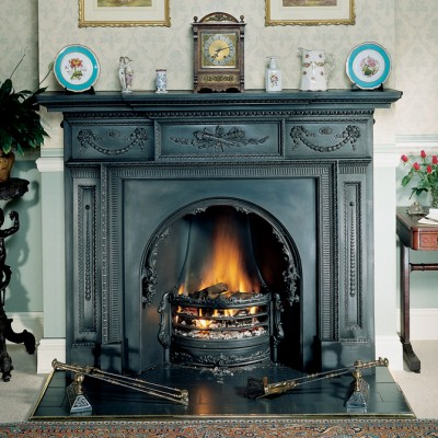 SR023 - Stovax William IV Cast Iron Mantel