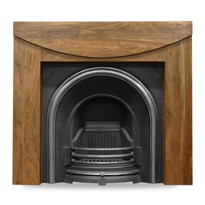 CR009 - Carron Celtic Arch Cast Iron Fireplace Insert