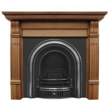 CR004 - Carron Coleby Cast Iron Fireplace Insert
