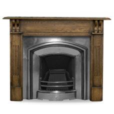 CR012 - Carron London Plate Cast Iron Fireplace Insert