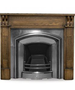 London Plate Fireplace Insert