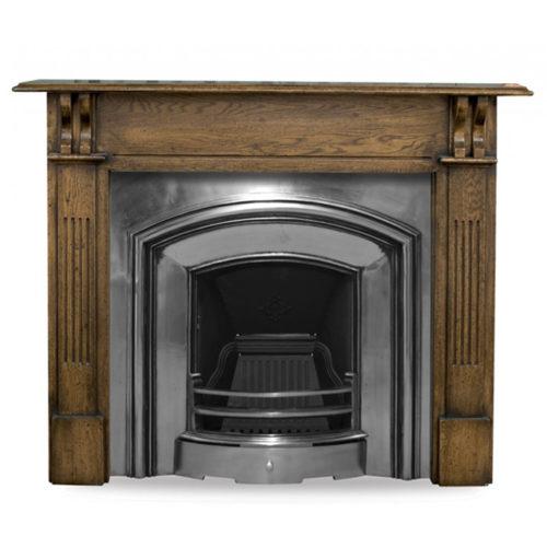 London Plate Fireplace Insert