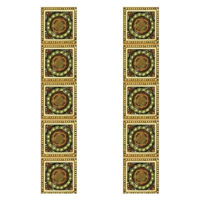 Carron Tubelined Symmetrical Fireplace Tiles (LGC095)