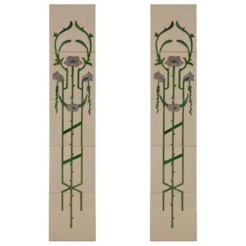 Carron Tubelined Fireplace Tiles (LGC014)
