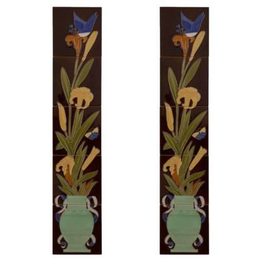 Carron Tubelined Urn Fireplace Tiles