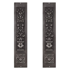 RT074 - Carron Cast Iron Fireplace Panels (RX080)