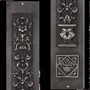 RT074 - Carron Cast Iron Fireplace Panels (RX080)