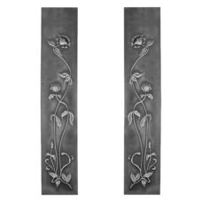 RT076 - Carron Cast Iron Fireplace Panels (HEB319)