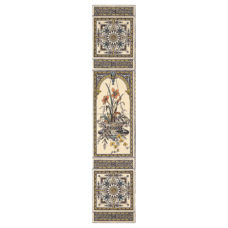 RT082 - Stovax Hanging Basket Decorated Tile Set (4276)