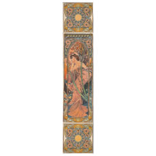 RT091 - Alphonse Mucha Evening Reverie Decorated Tile Set (R) (4474)