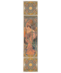 Alphonse Mucha Evening Reverie Tile Set (RH)