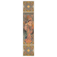 RT092 - Alphonse Mucha Evening Reverie Decorated Tile Set (L) (4475)