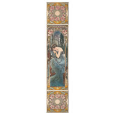 RT094 - Alphonse Mucha Nocturnal Slumber Decorated Tile Set (R) (4477)