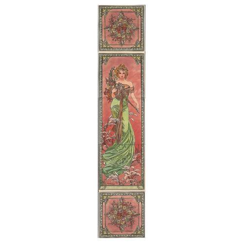 Alphonse Mucha Spring Tile Set (LH) (4478)