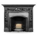 CR013 - Carron Wide London Plate Cast Iron Fireplace Insert