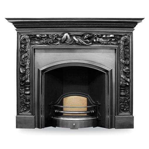 Carron Wide London Plate Fireplace Insert