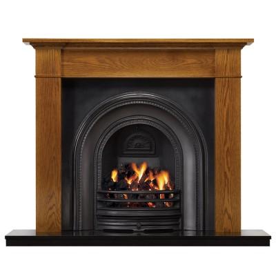 SR035 - Stovax Brompton Wood Mantel