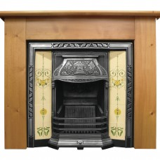 CR002 - Carron Laurel Cast Iron Fireplace Insert
