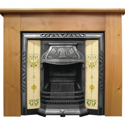 CR002 - Carron Laurel Cast Iron Fireplace Insert