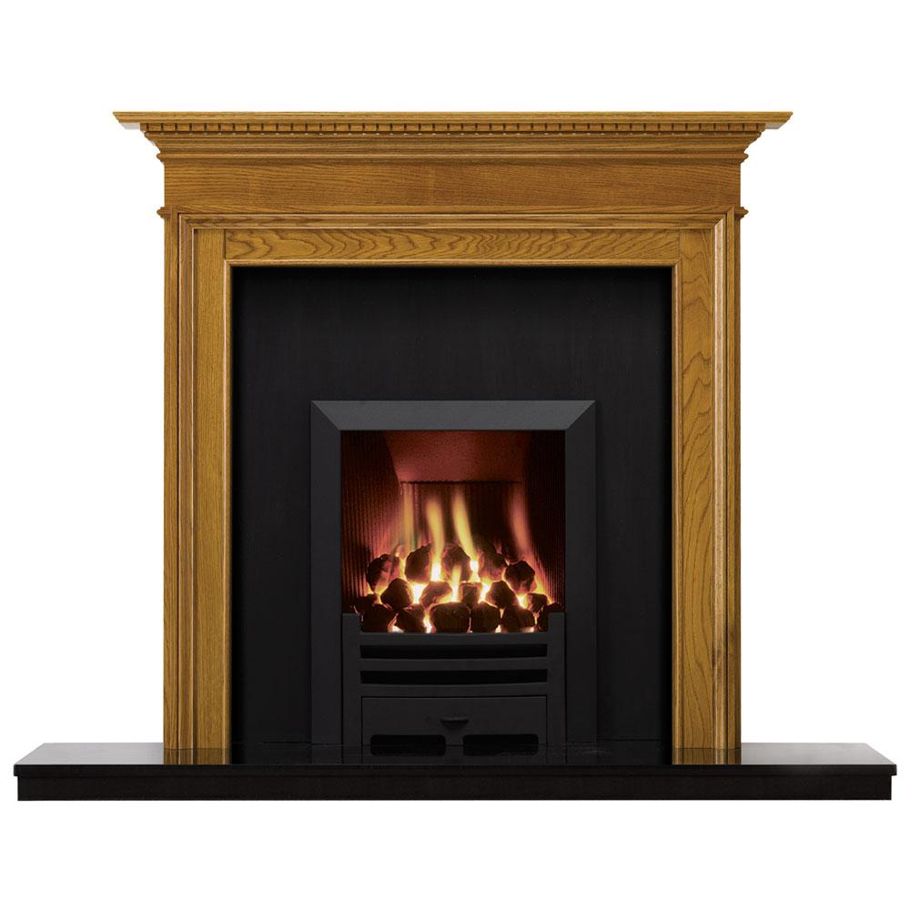 Stovax Small Kensington Wood Mantel Victorian Fireplace