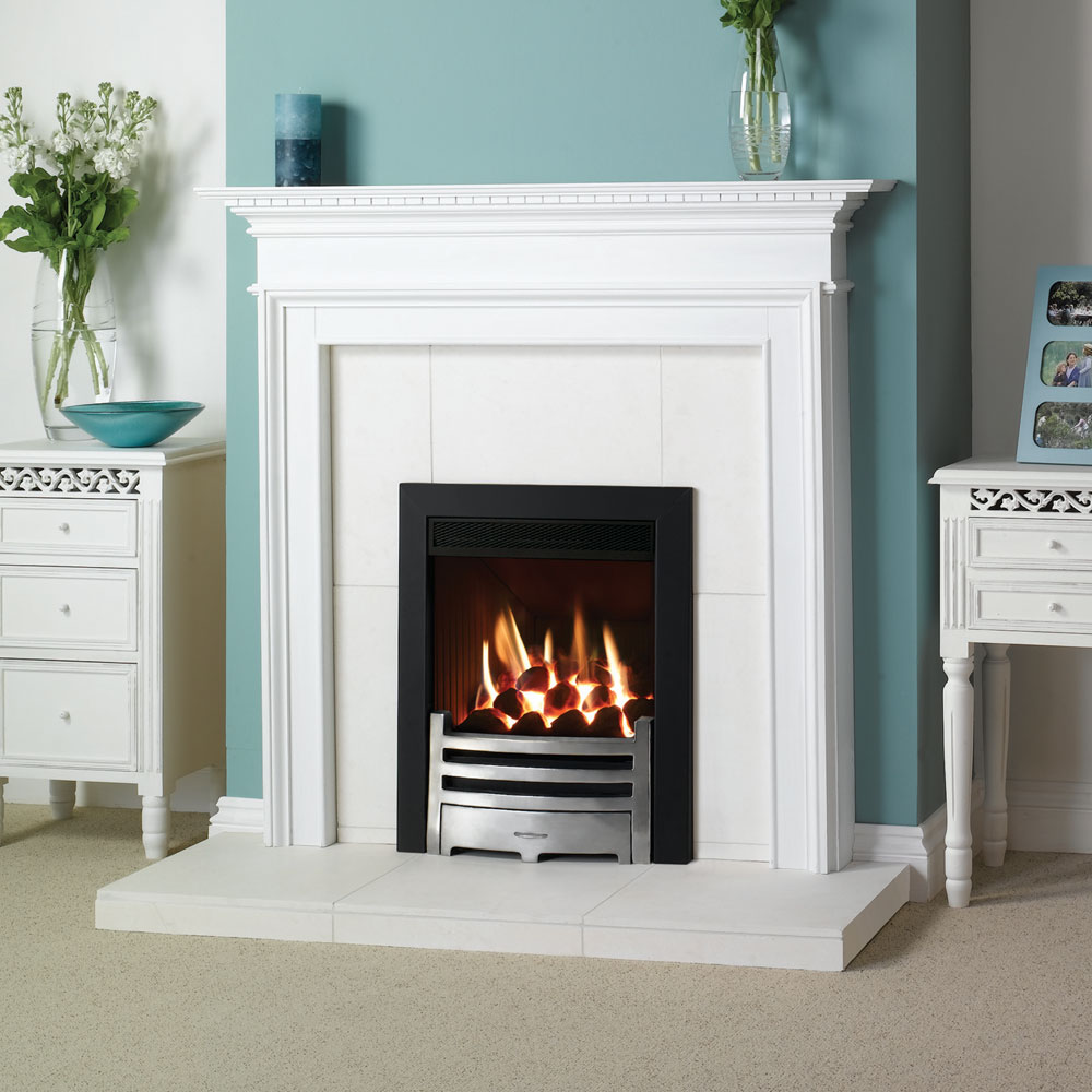Stovax Small Kensington Wood Mantel Victorian Fireplace