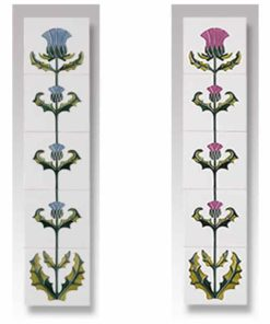 Cast Tec Thistle Fireplace Tiles
