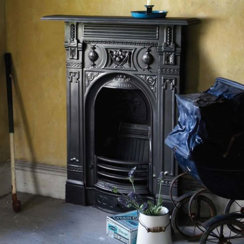 Small Victorian Combination Fireplace