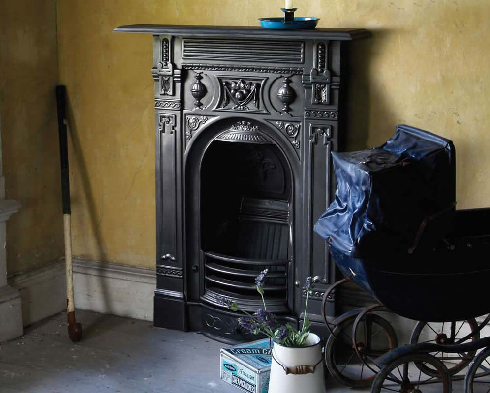 Carron Small Victorian Combination Fireplace Victorian