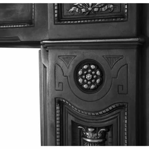 Holyrood Cast Iron Fireplace Surround
