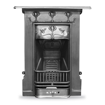 CR028 - Carron Abbot Cast Iron Combination Fireplace