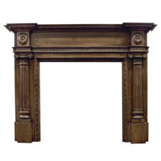 CR056 - Carron Ashleigh Wooden Fireplace Surround