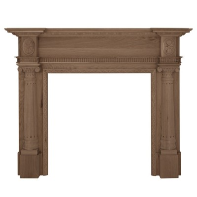 Carron Ashleigh Wooden Fireplace Surround