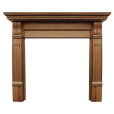 CR058 - Carron Corbel Wooden Fireplace Surround