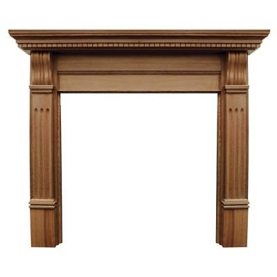 CR058 - Carron Corbel Wooden Fireplace Surround