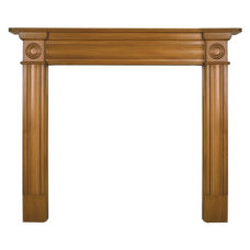 CR059 - Carron Derry Wooden Fireplace Surround