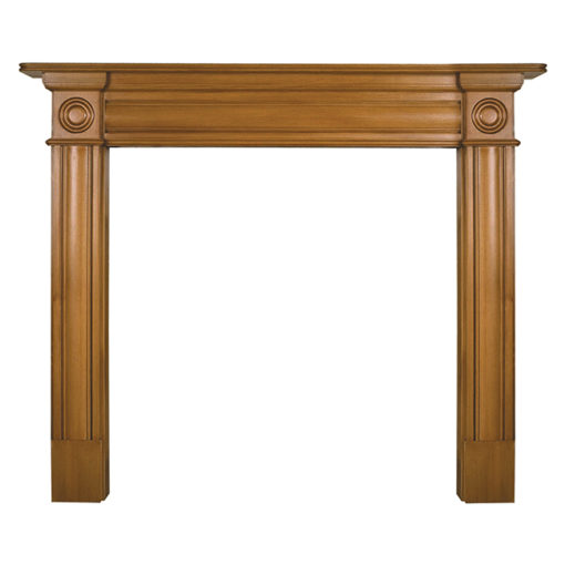 Carron Derry Wooden Fireplace Surround