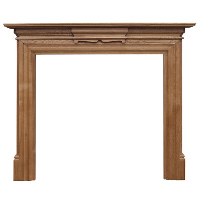CR062 - Carron Grand Wooden Fireplace Surround