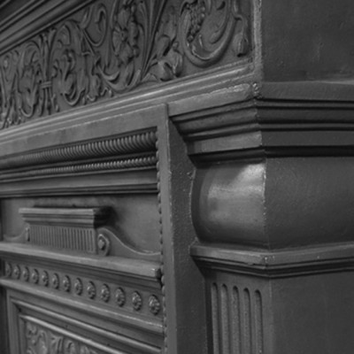 Carron Hamden Cast Iron Combination Fireplace