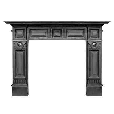 CR050 - Carron Hampton Cast Iron Fireplace Surround