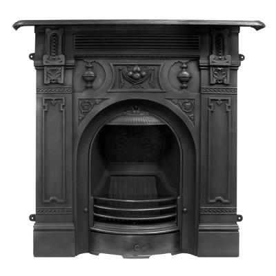 Carron Large Victorian Combination Fireplace