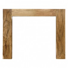 CR064 - Carron Manhattan Wooden Fireplace Surround