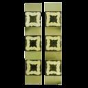OT092 - Original Unusual Edwardian Fireplace Tiles