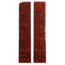 OT110 - Original Red Victorian Brick Fireplace Tiles