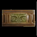 OT112 - Antique Floral Victorian Fireplace Tiles