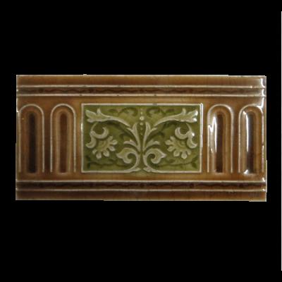Antique Floral Victorian Fireplace Tiles