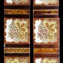 OT139 - Classic Light Floral Victorian Fireplace Tiles