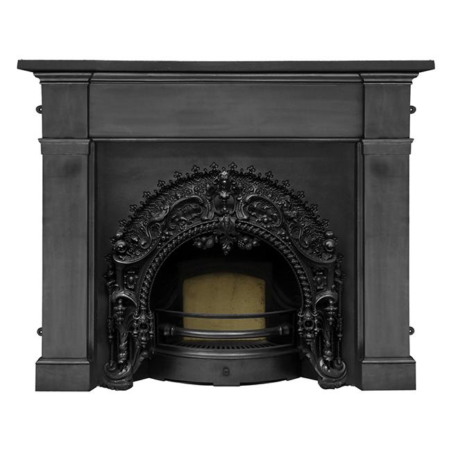 buy carron rococo cast iron fireplace insert